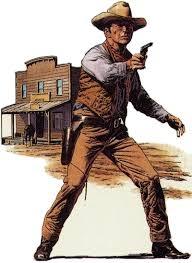 Cowboy già cạo râu
